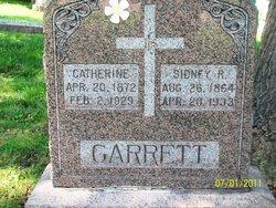 Judge Sidney Robert Garrett