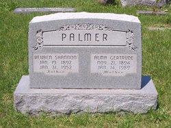 Alma Gertrude <i>Akeman</i> Palmer