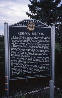 Rebecca <i>Burdick</i> Winters