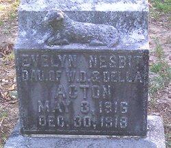 Evelyn <i>Nesbitt</i> Acton