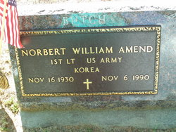 Norbert William Butch Amend