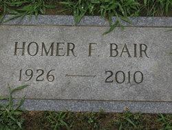Homer Franklin Bair, Jr