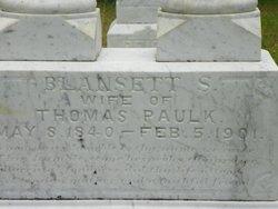 Blansett <i>Sutton</i> Paulk