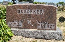 Mary Elizabeth <i>Bremer</i> Boedeker