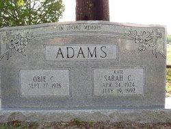 Sarah Catherine Kate Adams