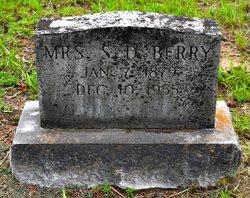 Ida <i>Webb</i> Berry