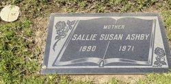 Sallie Susan <i>Fowler</i> Ashby