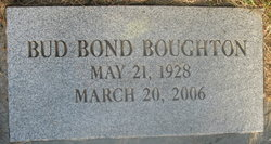 Bud Bond Boughton