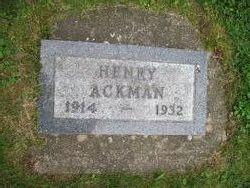 Henry William Ackman