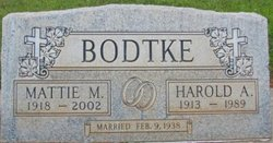 Harold A. Bodtke