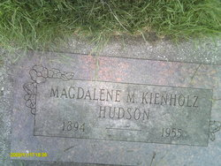 Magdalene Mary <i>Kienholz</i> Hudson