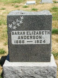 Sarah Elizabeth <i>Smith</i> Anderson