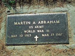 Martin Anton Abraham
