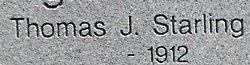 Thomas Jefferson Starling