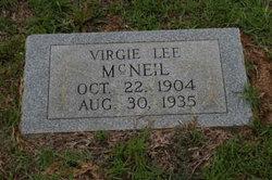 Virgie Lee <i>Baker</i> McNeill