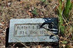 Alatha B. <i>Teeple</i> Berkey