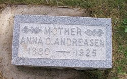 Anna Otilia <i>Pedersen</i> Andreasen