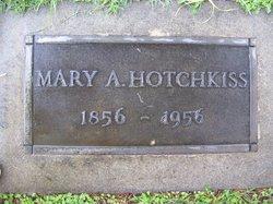 Mary Anna Mary Annie <i>Schenck</i> Hotchkiss