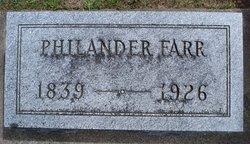 Philander Farr