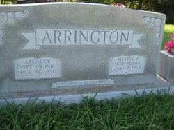 Aldie Roscoe Arrington