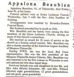 Appalona <i>Fickler</i> Beaubien