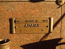 Eloise O. Adams