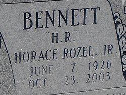 Horace Rozel H.R. Bennett, Jr