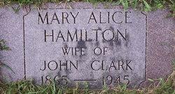 Mary Alice <i>Hamilton</i> Clark