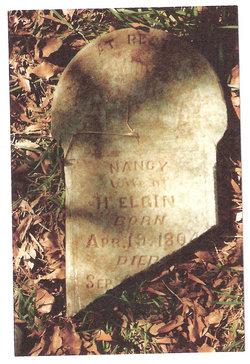 Nancy Agnes <i>Webb</i> Elgin