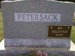 Steve J Petersack