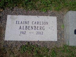 Elaine <i>Carlson</i> Albenberg