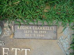 Regina <i>Harrell</i> Barrett