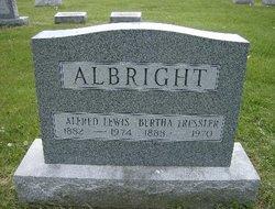 Bertha <i>Tressler</i> Albright