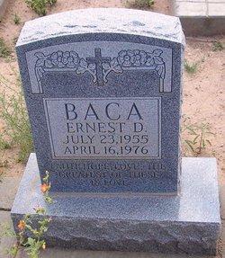 Ernest D Baca