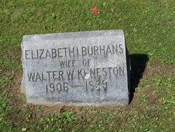 Elizabeth I. <i>Burhans</i> Keneston