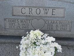 Clara Belle <i>Miller</i> Crowe