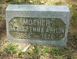 Harriet Emma <i>Mattson</i> Ashton