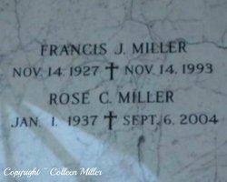 Francis Joseph Frank Miller, Sr