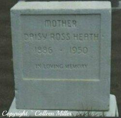 Daisy Liza <i>Ross</i> Heath