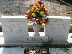 Janie <i>Pendley</i> Johnson