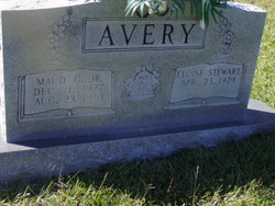 Maud Golcen M.G. Avery, Jr