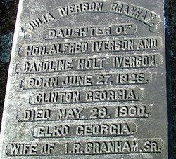 Julia <i>Iverson</i> Branham