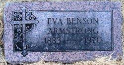 Eva <i>Benson</i> Armstrong