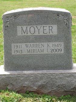 J. Warren K. Moyer
