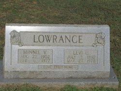 Minnie Mae <i>May</i> Lowrence