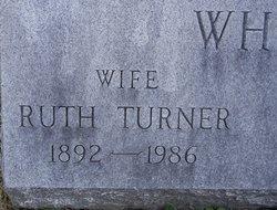 Ruth Crouch <i>Turner</i> White