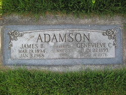 Genevieve <i>Cutler</i> Adamson