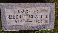 Helen Oneidia <i>Rawlings</i> Chaffee