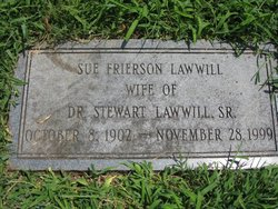 Susie Belle <i>Frierson</i> Lawwill