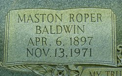 Maston Roper Baldwin